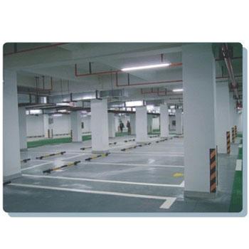 上海市人民政府第八办公室地库划线